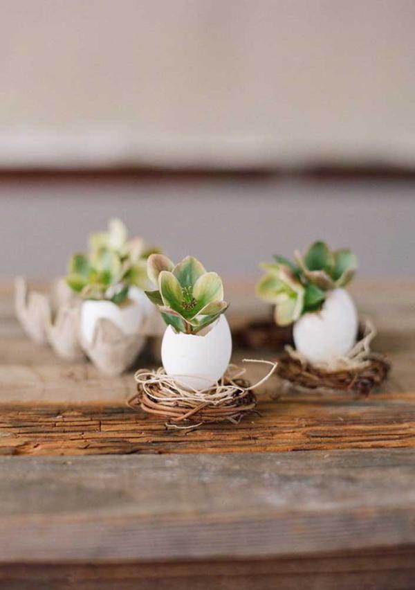 DIY Ideen Eier DIY Deko zu Ostern