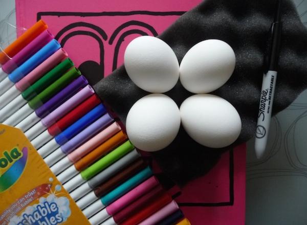 Eier ausblasen Tipps und Anleitung Osterdeko Ideen