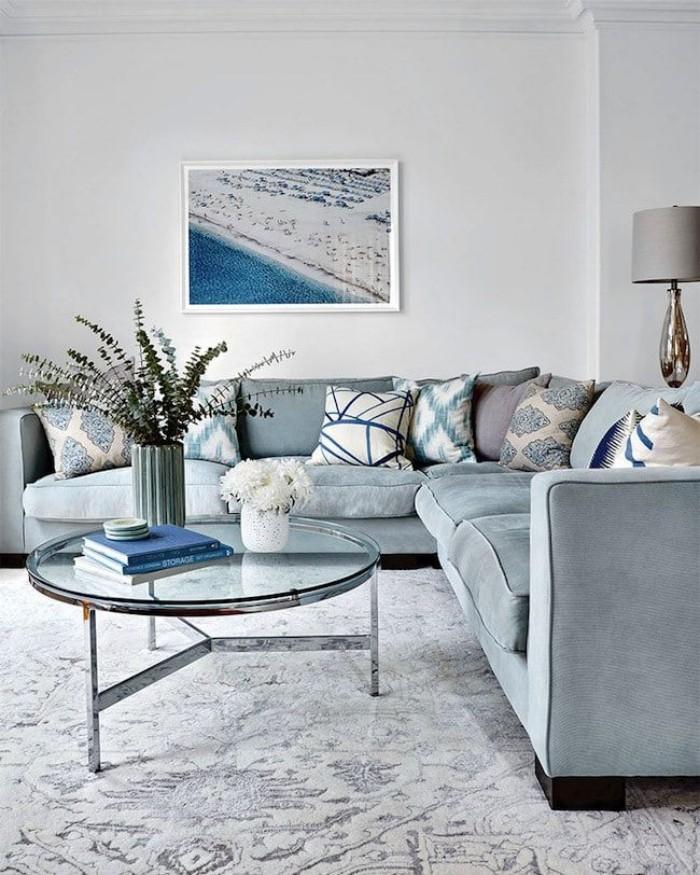 Geheimnisse des Innendesigns enthüllt komfortables Wohnzimmer Couch in Grau