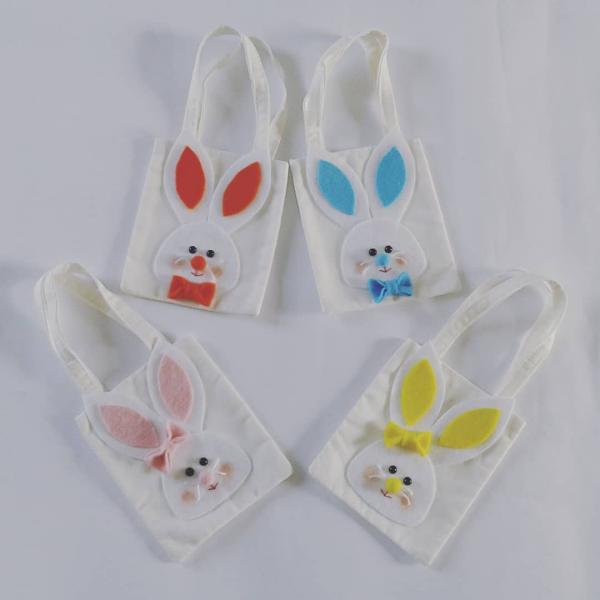 Geschenktüten für Ostern - Basteln mit Kindern