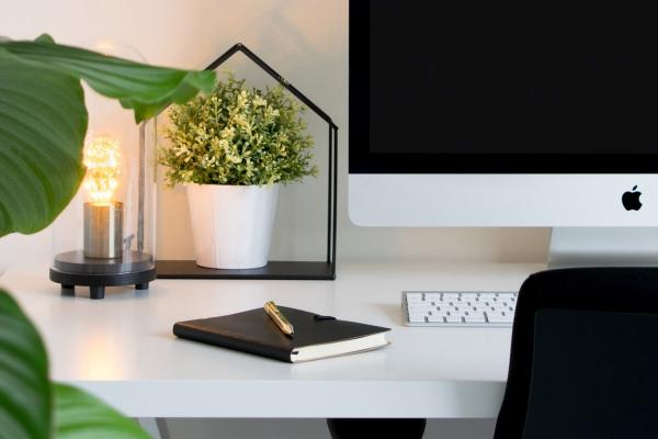 Ideen für gesundes Leben Arbeiten von Zuhause