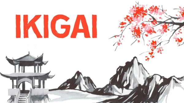 Ikigai Buch japanisches Konzept Lebensphilosophie