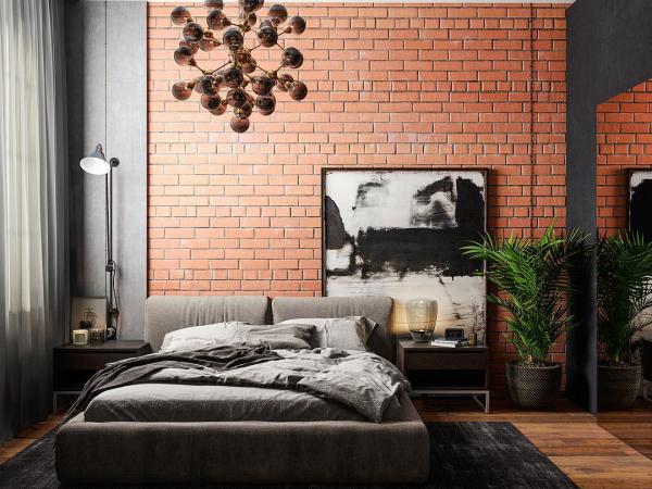 Industrielles Design Wohnideen Schlafzimmer Ideen