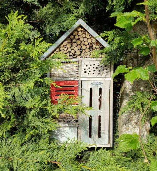 Insektenhotel - Garten Ideen Naturgarten