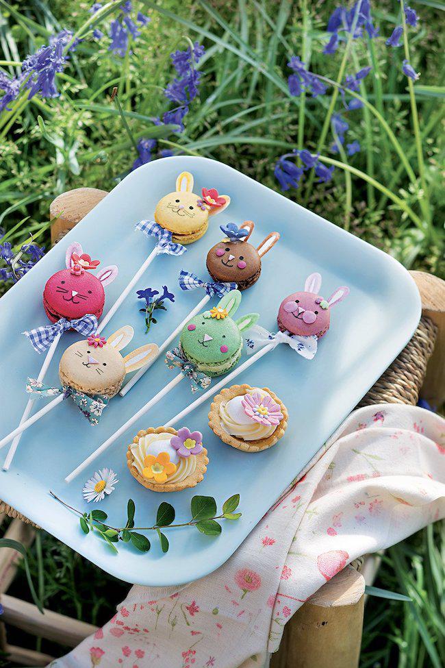 Kleine Plätzchen Kuchen Ideen Oster-Bastelideen