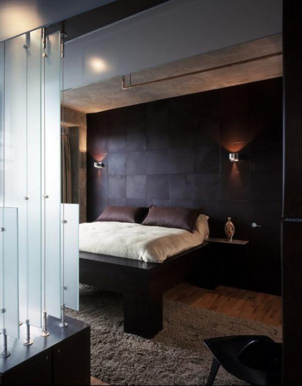 Männliches Schlafzimmer moderne Schlafzimmer Ideen