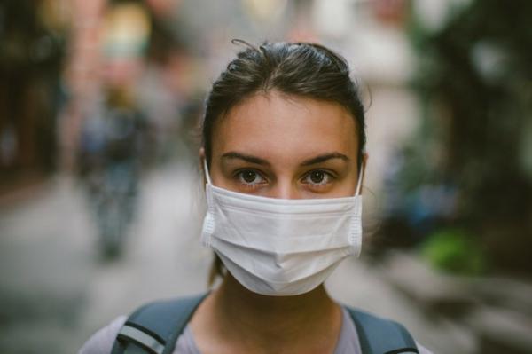 Mundschutz Maske Atemschutzmaske tragen