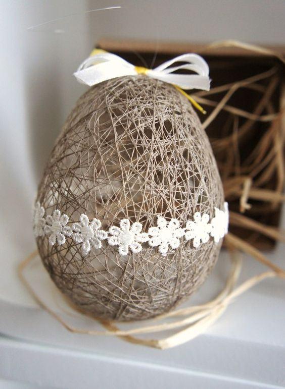 Oster-Bastelideen - Ei n großes Osterei