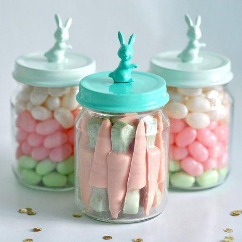 Oster-Bastelideen Süßigkeiten Ideen