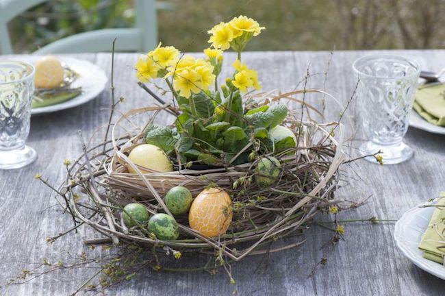 Oster-Bastelideen - Tischgestaltung - Ostereier