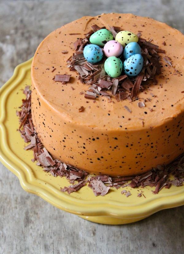 Ostereier - Schockoladentorte - Torte für Ostern