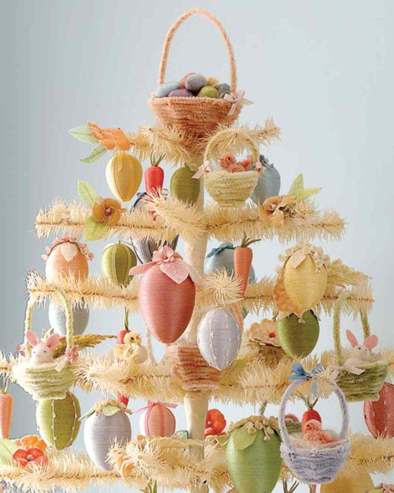 Ostereier kreative Deko Oster-Bastelideen
