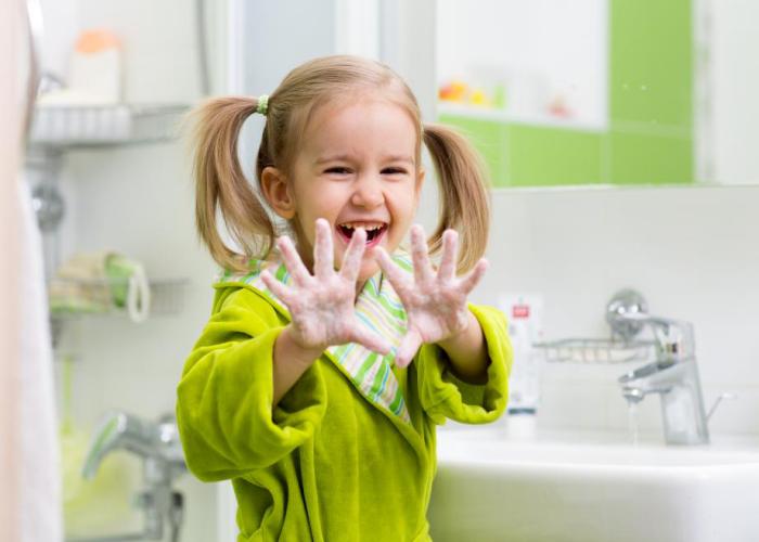 Richtiges Händewaschen