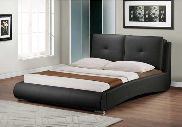 Schlafzimmer Ideen Bett gesund Leben