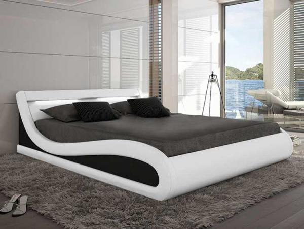 Schlafzimmer Ideen futuristisches Design