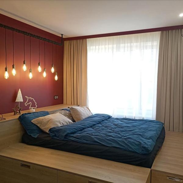 Schlafzimmer Ideen moderne Betten moderne Wandgestaltung