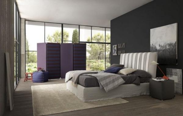 Schlafzimmer Ideen offener Wohnplan