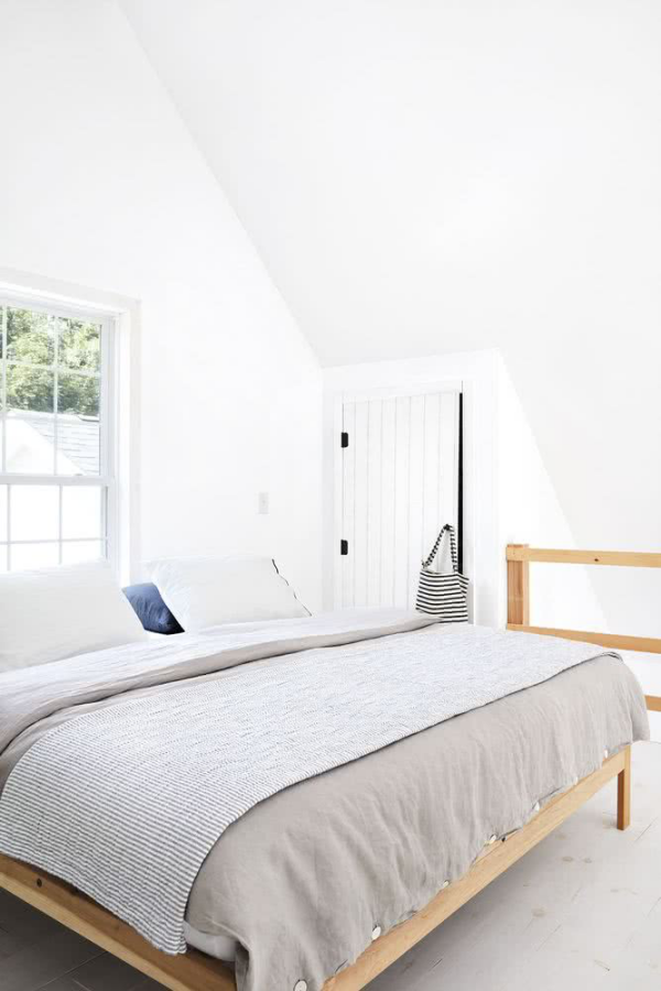 Schlafzimmer Ideen skandinavischer Stil