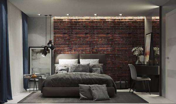 Schlafzimmer Ideen tolle Akzentwand