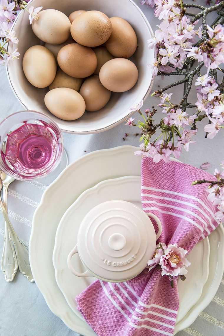 Schmuck Ideen Ostern 2020 Servietten Falten
