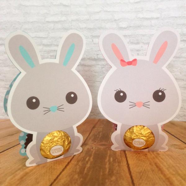 Schokoladeneier - Hasen Ideen - Basteln mit Kindern