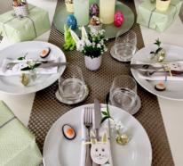 Ostern 2020: So können Sie festliche Servietten falten und damit dekorieren