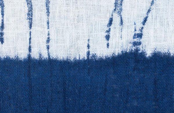 Shibori Technik - Blaue Farbe - tolle Farben