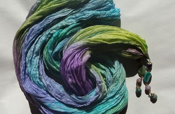 Shibori Technik -DIY Farbtechnik