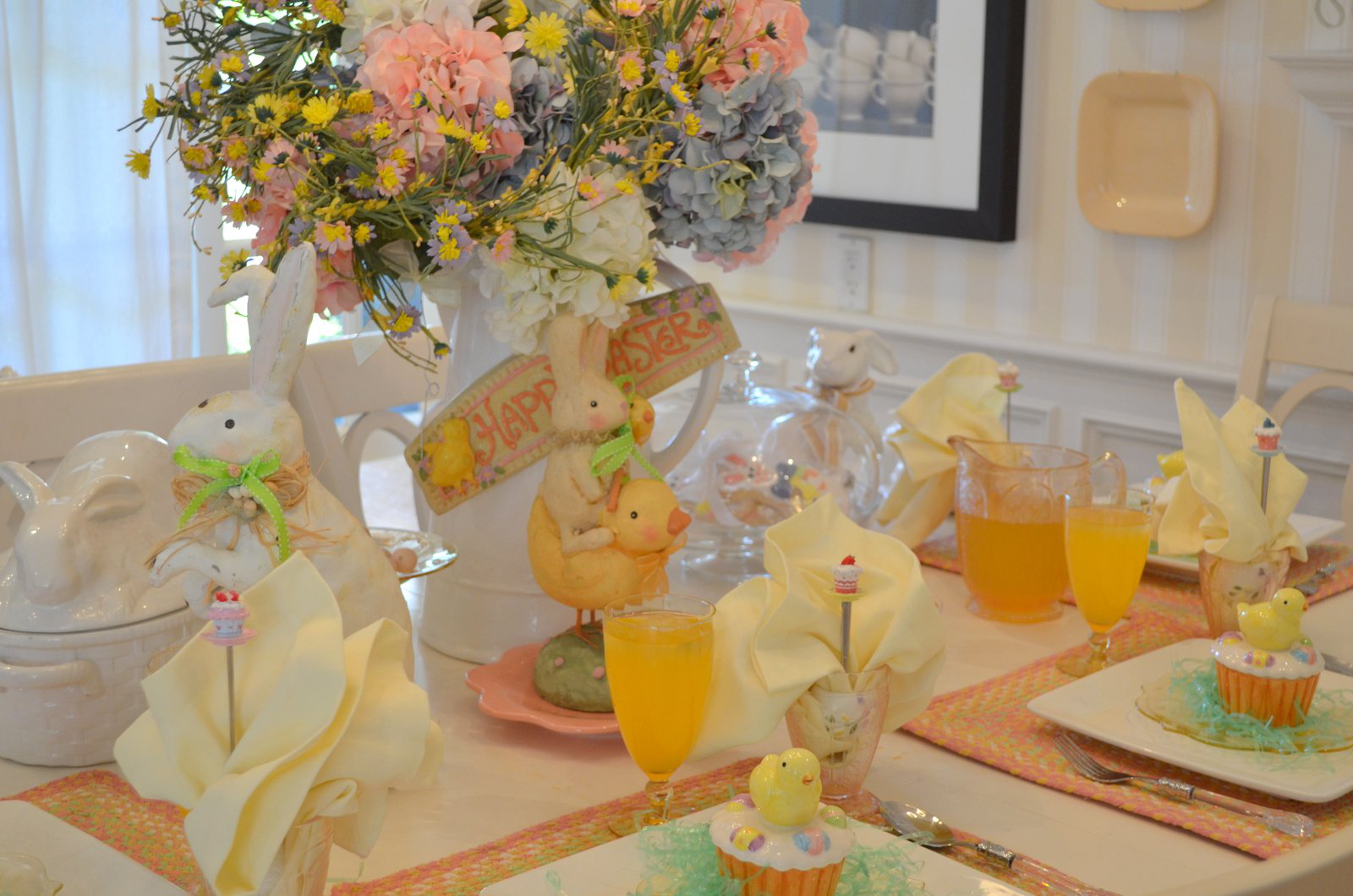 Tisch gestalten - Schmuck Ideen - Servietten Falten