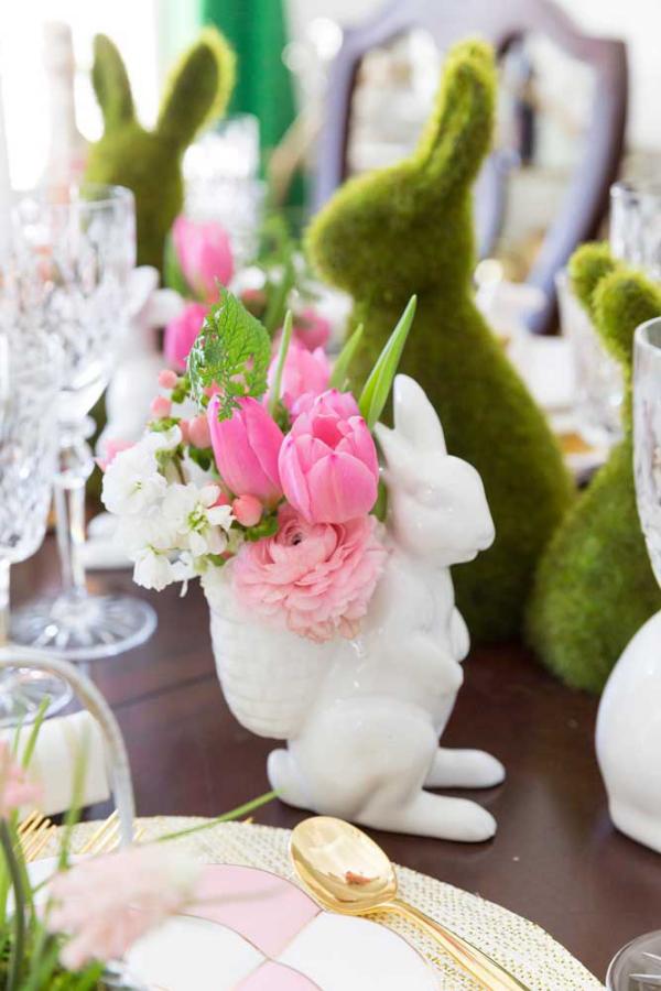 Tischgestaltung - Tulpen Ideen - DIY Ideen
