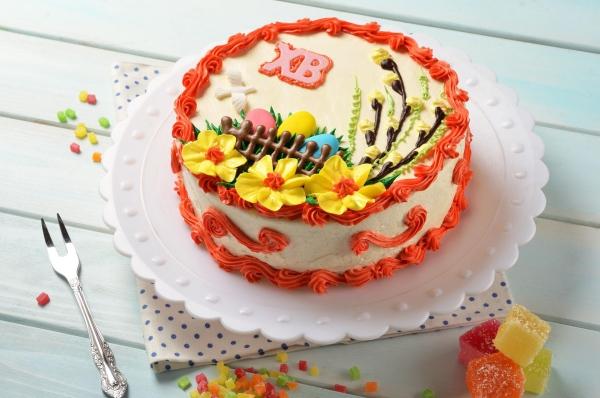 Tolle Muster - DIY Deko - Torte für Ostern