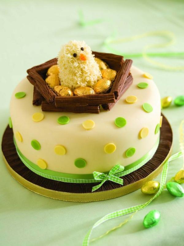 Torte für Ostern - Hähnchen Ideen Ostern