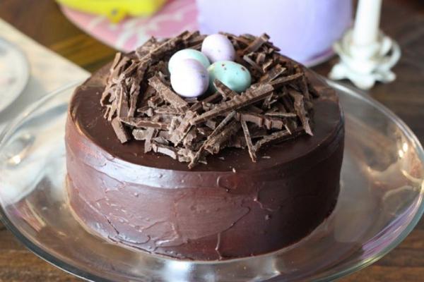 Torte für Ostern - Kuchen aus Schockolade Ostereier ideen