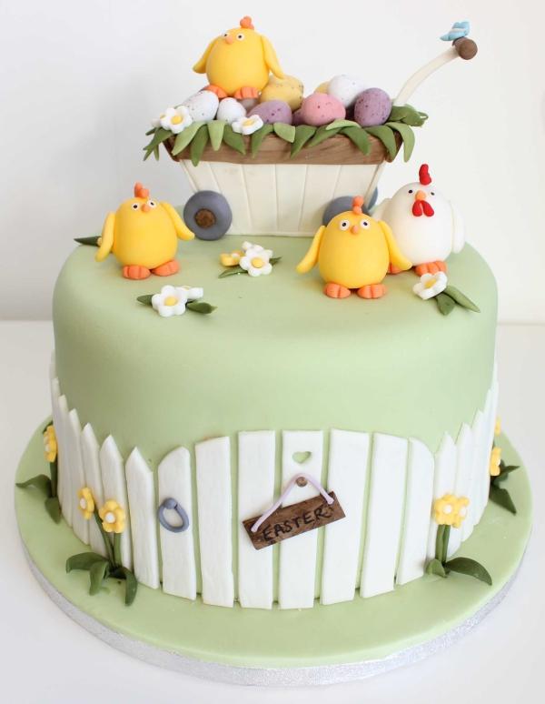 Torte für Ostern Kundertorte