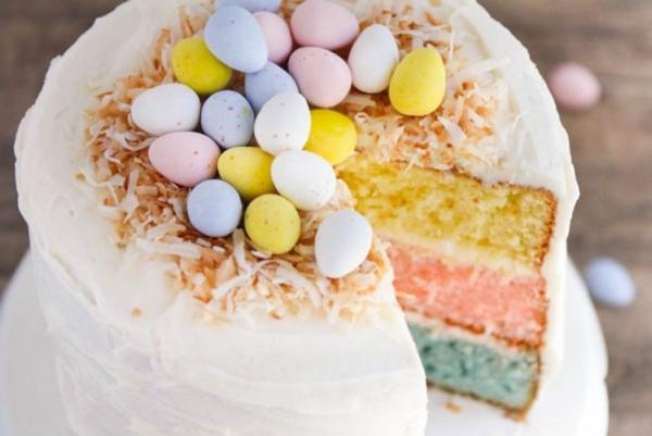 Torte für Ostern - Ostereier Inspiration