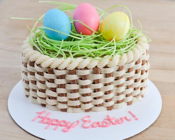 Torte für Ostern Ostertorte Ostereier