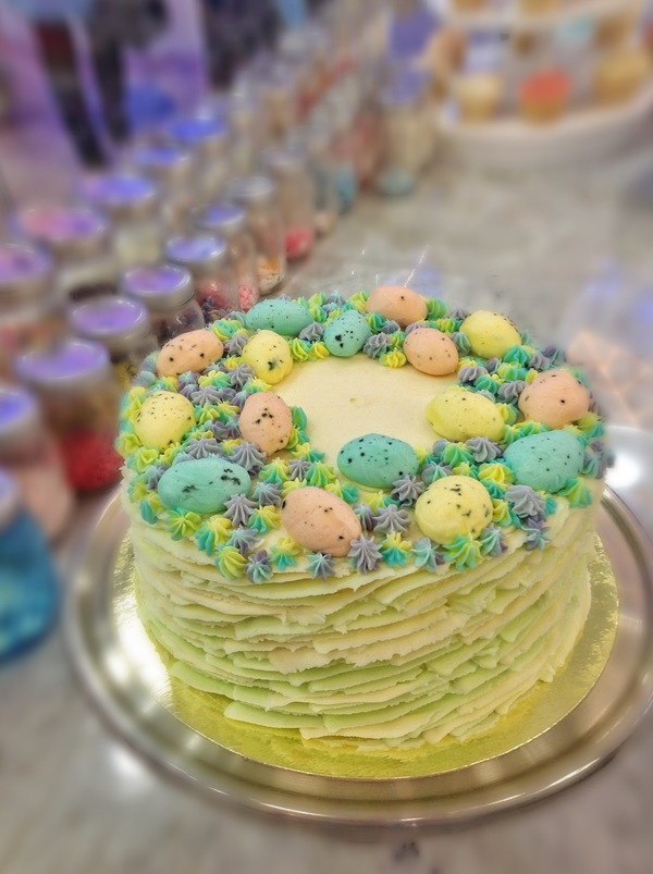 Torte für Ostern - grüne Torten Ideen