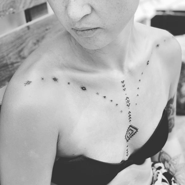 alle arten von ideen - indianer tattoo