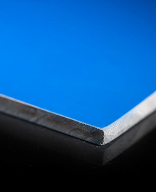 blaue hpl platten