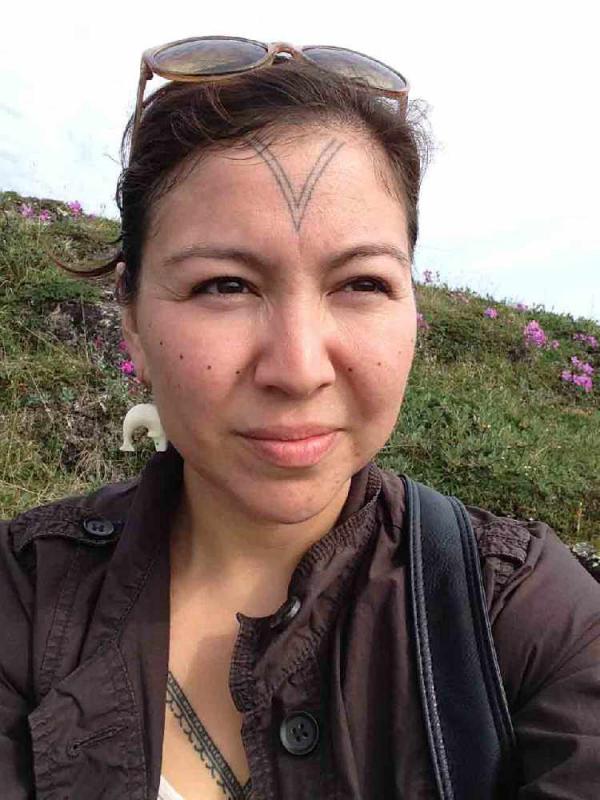 eine tätowierung fürs gesicht indianer tattoo