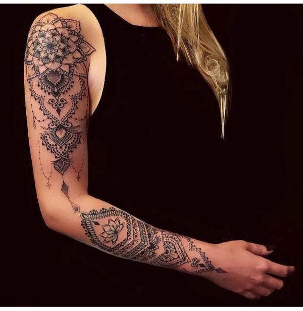 exotische muster tätoweiungen tattoos 2020