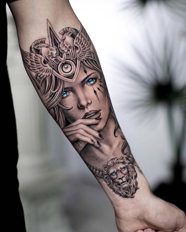 figuren - frauen bild - tattoos 2020