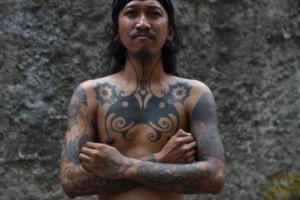 indianer tattoo - ein toller indianer