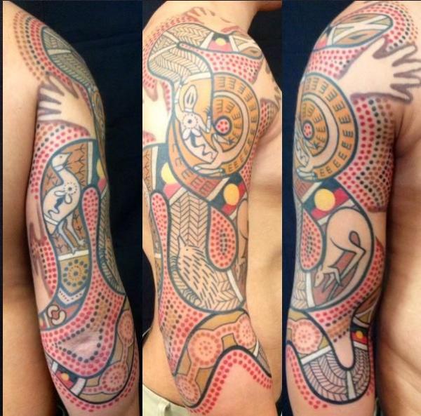 indianer tattoo männliche tätowierungen