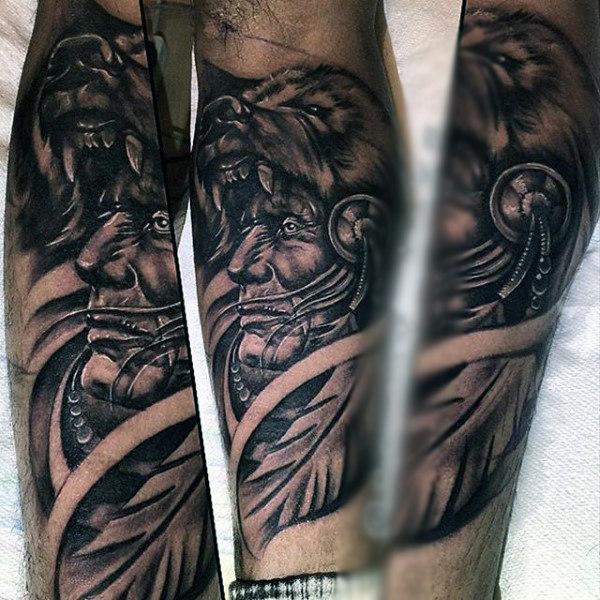 indianer tattoo - schöne indianer hände