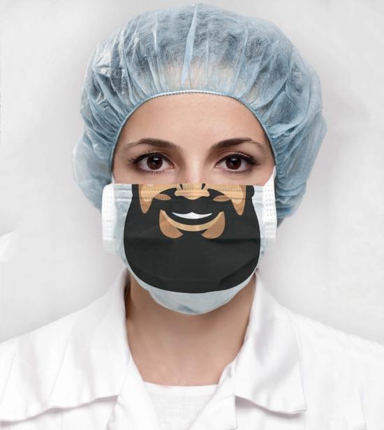 lustige atemschutzmaske chirurgische maske design