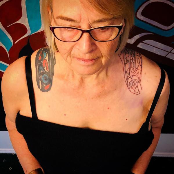 muster und ideen indianer tattoo