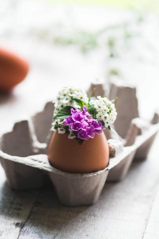 nachhaltige ostern ostereier dekorieren