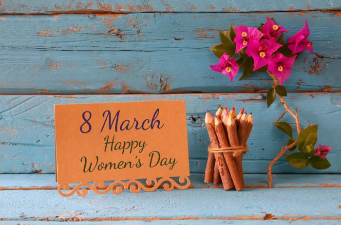 nternationalen Frauentag am 8.März feiern weltweit seit 1977