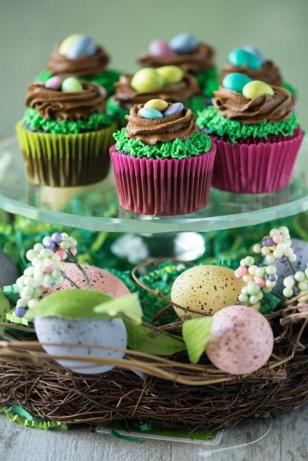 osternest backen originelle muffins